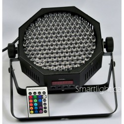 LED Flat PAR64 with IR Remote Color Changing Uplighting