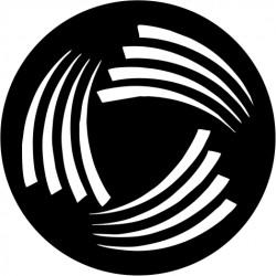 B128 Swirl fans (Glass)