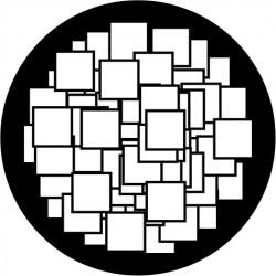 B202 Random Squares Large (Glass)