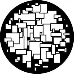 B203 Random Squares Small (Glass)