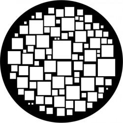 B204 Random Squares Medium (Glass)