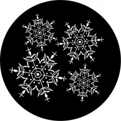 C101 Flakes of Snow (Glass)