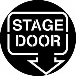 H200 stage door sign