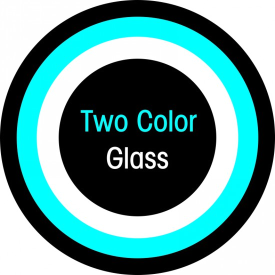 Two Colors Glass