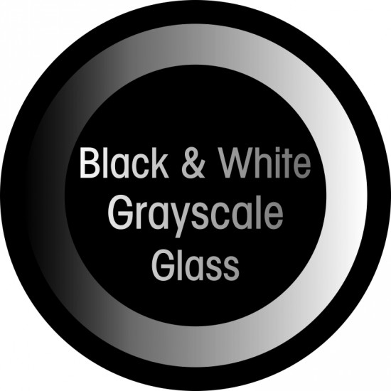 B/W Glass with Grayscale