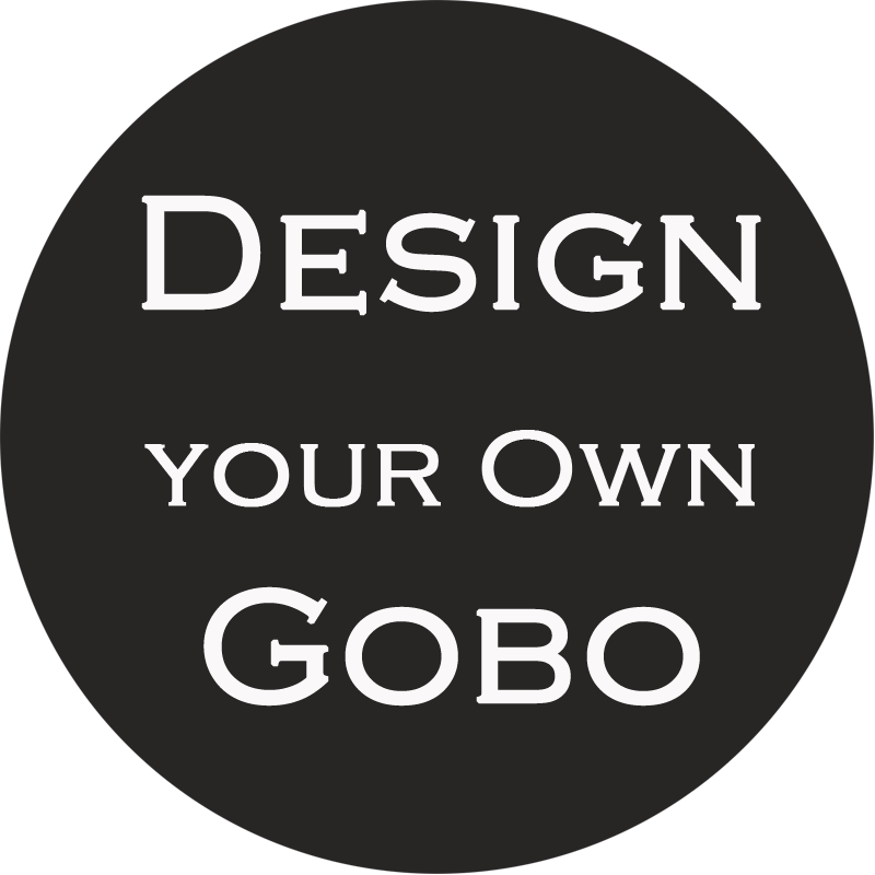 create your own gobo at your own pace