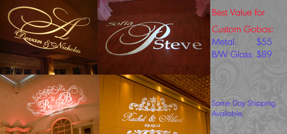 Thegobocom Custom Gobos Wedding Gobo